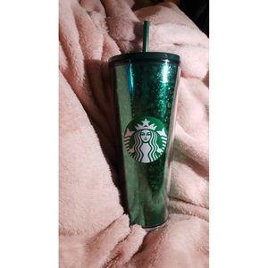 Starbucks Holiday Tumbler Green